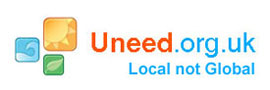 Web site devleopers logo, Uneed local not global